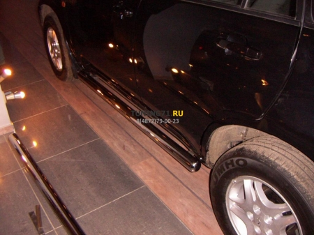 Chevrolet Niva 2002-2008 г.в.-Пороги труба d-60